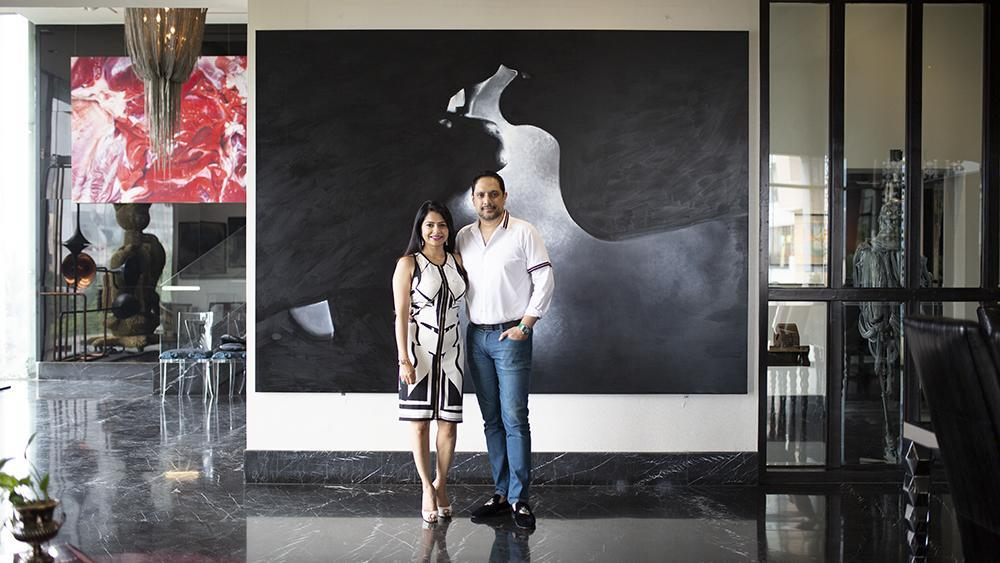 Inside the Art-Filled Dhaka Home of Mega Collectors Nadia and Rajeeb Samdani