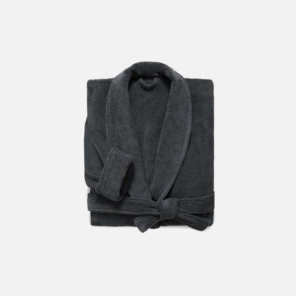 """<p><strong>Brooklinen</strong></p><p>brooklinen.com</p><p><strong>$98.00</strong></p><p><a href=""""https://go.redirectingat.com?id=74968X1596630&url=https%3A%2F%2Fwww.brooklinen.com%2Fproducts%2Fsuper-plush-robe&sref=https%3A%2F%2Fwww.esquire.com%2Flifestyle%2Fg36186166%2Fanniversary-gifts-for-him-husband%2F"""" rel=""""nofollow noopener"""" target=""""_blank"""" data-ylk=""""slk:Buy"""" class=""""link rapid-noclick-resp"""">Buy</a></p><p>There's also the Turkish cotton route. Less appropriate for public, but loads plushier.</p>"""