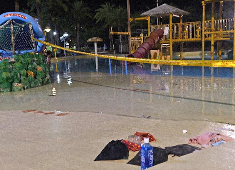 Fifteen died and hundreds were injured in the explosion at Formosa Fun Coat on June 28, 2015 (AFP Photo/Sam Yeh)