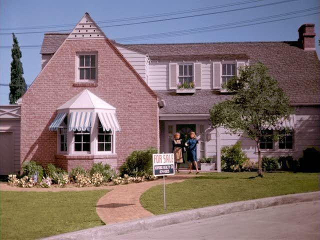 """<p>If you watched '60s TV closely, you might have thought that Samantha and Darrin shared a neighborhood with Jeannie and Captain Nelson. Their home's facade <a href=""""http://time.com/3318876/bewitched-anniversary/"""" rel=""""nofollow noopener"""" target=""""_blank"""" data-ylk=""""slk:also appeared"""" class=""""link rapid-noclick-resp"""">also appeared</a> on shows like <em>I Dream of Jeannie </em>and<em> Dennis the Menace. </em></p>"""