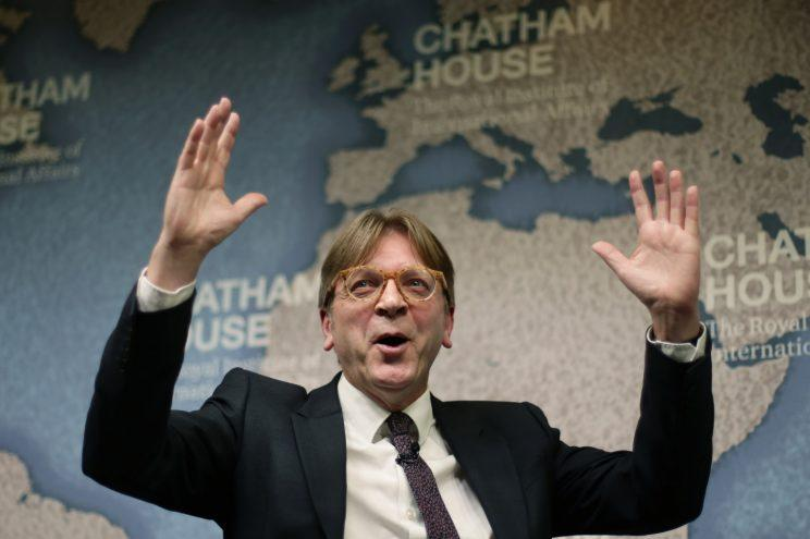 Guy Verhofstadt threw another spanner in the works (PA Images)