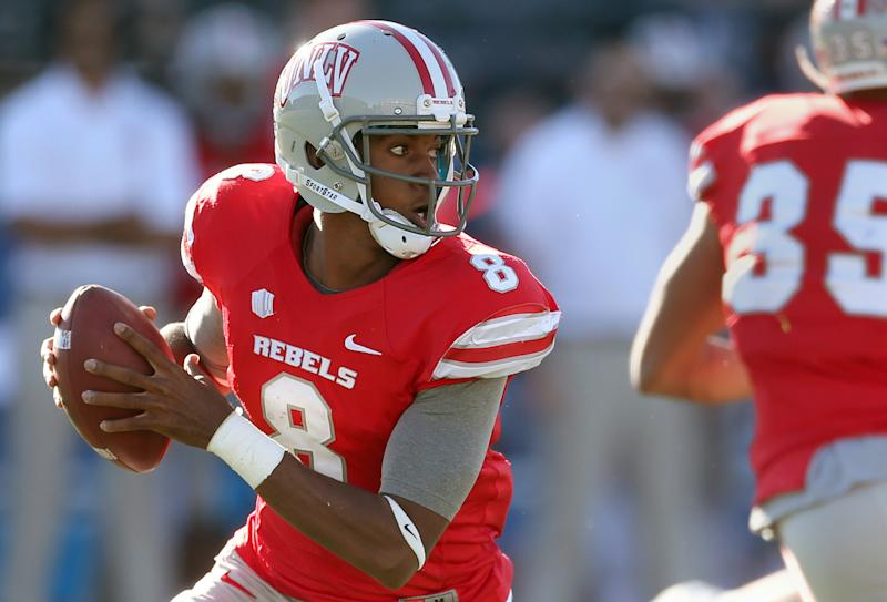 Herring shines as UNLV holds off Nevada 27-22