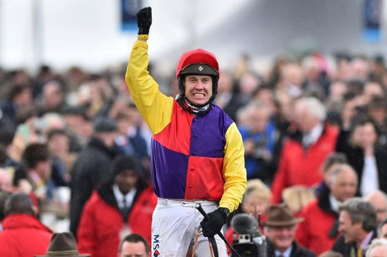 Richard Johnson has been crowned champion jump jockey four times