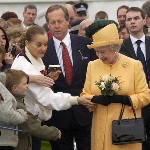The Queen is said to have expressed concerns following a shake up of royal security - Credit: Ian Jones