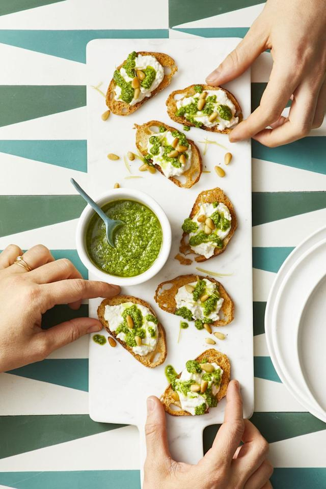 "<p>You <em>could</em> pick only <a href=""https://www.goodhousekeeping.com/holidays/g30780179/st-patricks-day-green-food-ideas/"">green foods</a> when planning St. Patrick's Day appetizers to serve at a party, but creamy dairy, farm-fresh veggies, and hot-from-the-oven breads are all traditional Irish foods that are worthy of a spot on your table. Never fear, our collection of easy recipes also includes plenty of emerald-colored options (from spinach dip to zucchini tots to an herb-packed frittata) to go with your <a href=""https://www.goodhousekeeping.com/food-recipes/easy/videos/a37082/how-to-make-green-beer/"">green beer</a>. They pair pretty nicely with a pint of Guinness, too. </p><p>Make one or two (or more) as starters for a feast leading up to a main course of St. Patty's <a href=""https://www.goodhousekeeping.com/food-recipes/a6232/corned-beef-cabbage-potatoes-2505/"">corned beef</a>. By the time you've brought out the <a href=""https://www.goodhousekeeping.com/food-recipes/dessert/g3262/st-patricks-day-desserts/"">rainbow popcorn and shamrock cupcakes for dessert</a> and poured some coffee (perhaps with a shot of whiskey) your guests will be definitely be feeling the luck o' the Irish.</p>"