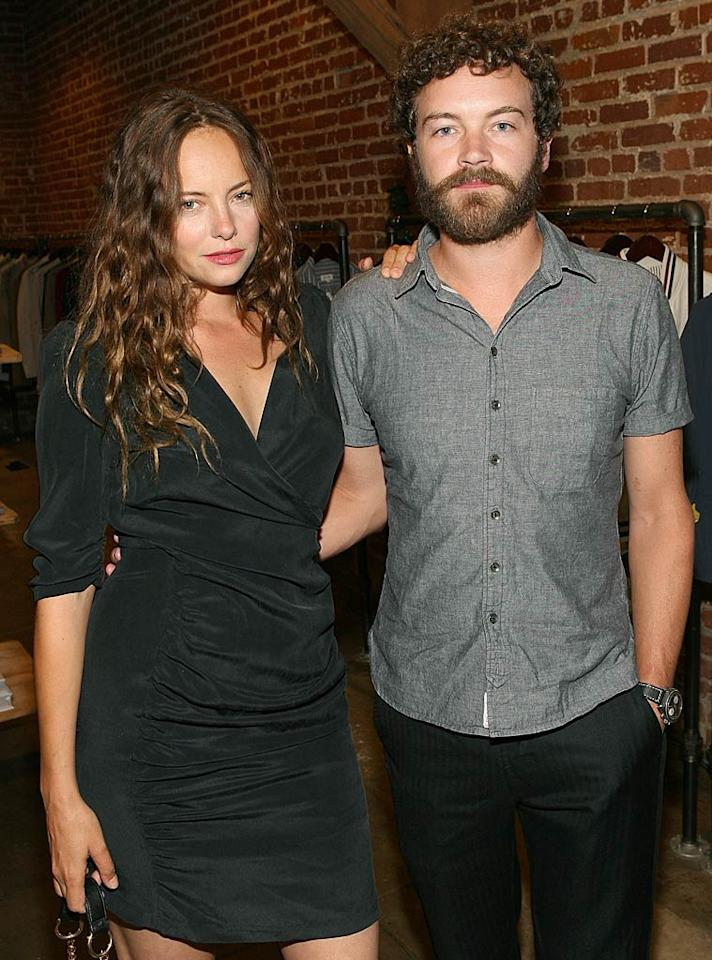 """After dating for eight years, Bijou Phillips (""""Raising Hope"""") and Danny Masterson (""""That '70s Show"""") became husband and wife in a private castle in Ireland -- Masterson is Irish -- on October 18. As Philips confessed to the <i>L.A. Times</i>, the couple's plans to wed elsewhere after becoming engaged in March 2009 were interrupted by Mother Nature. """"I was going to get married in Iceland, but then it blew up,"""" she said. """"That volcano!"""""""