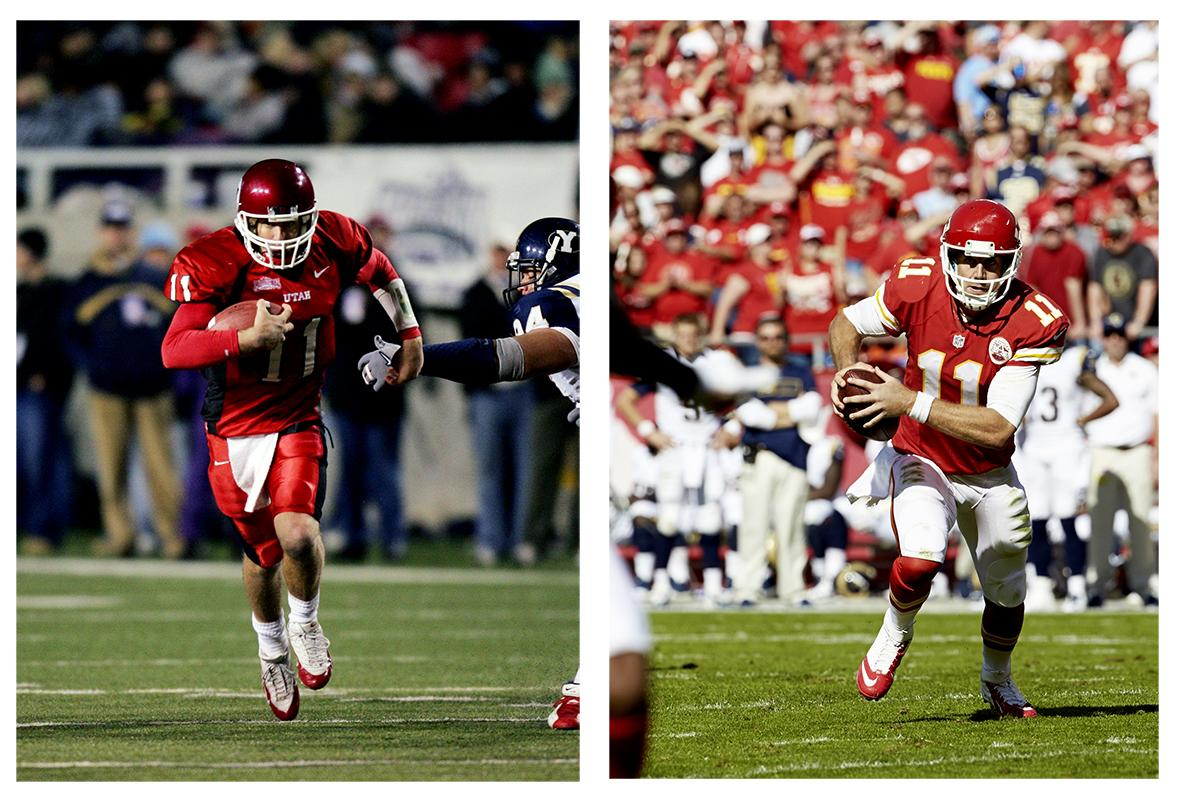 <p>Utah (L), Kansas City Chiefs (R)</p>