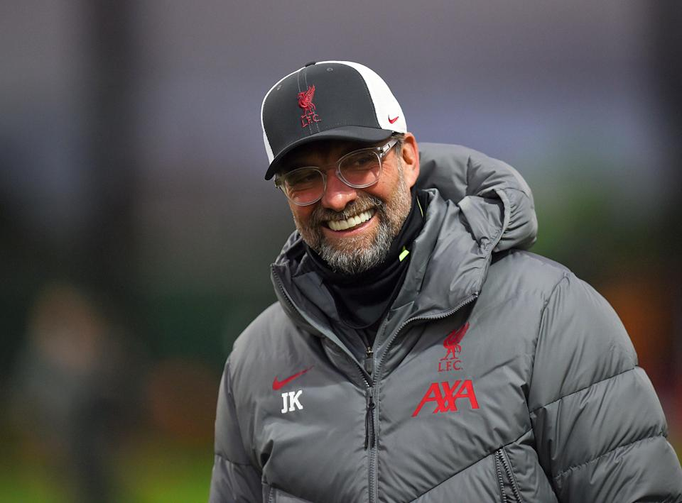 Jurgen Klopp is not concerned by the January transfer window despite Liverpool's defensive crisis (Getty)