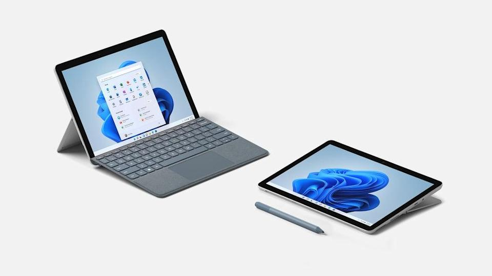 The Surface Go 3 is the latest lightweight version of the 2-in-1. (Microsoft)