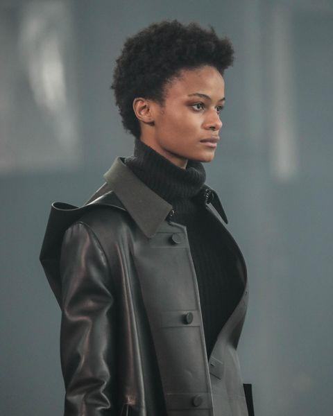 """<p>Curls and coils were styled with a lighter touch for fall 2021, leaving room for eye-catching dimension and volume.</p><p><a href=""""https://www.instagram.com/p/CLiM4m2AyIk/"""" rel=""""nofollow noopener"""" target=""""_blank"""" data-ylk=""""slk:See the original post on Instagram"""" class=""""link rapid-noclick-resp"""">See the original post on Instagram</a></p>"""