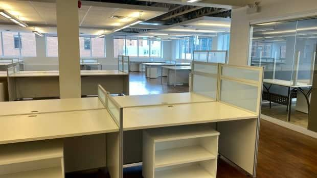 This office for lease in downtown Ottawa was among those viewed by RVezy in its hunt for a hybrid work-friendly space.