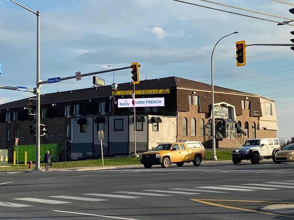 The City Motel is already operating as an overnight shelter, with between 26 and 28 beds available, according to Joan Kingston, chair of the Community Action Group on Homelessness. (Aidan Cox/CBC - image credit)