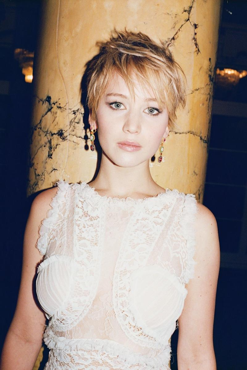 """In October 2015, Jennifer Lawrence published an essay on Lenny, titled """"Why Do I Make Less Than My Male Co‑Stars?"""" which tackled her questions about the wage gap in Hollywood."""