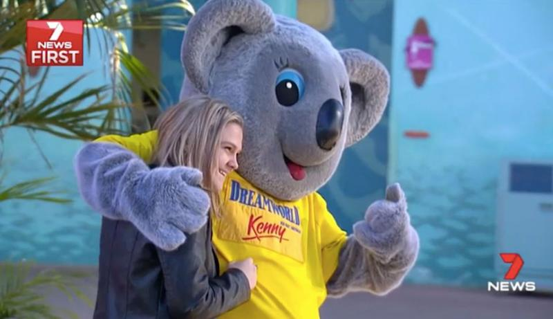 Anne only visited Dreamworld twice with her family. Source: 7 News