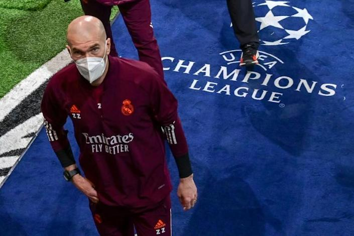 Zidane led Real Madrid to three of ther 13 Champions League titles