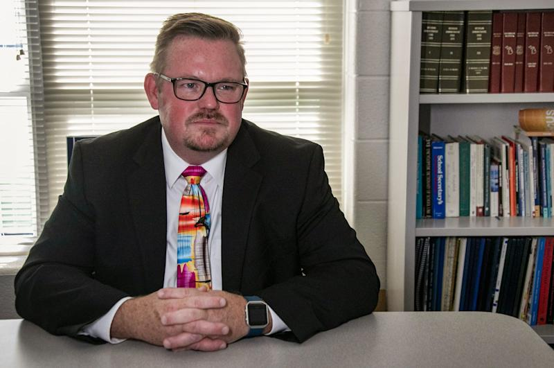 "Superintendent Rick Heitmeyer says Baldwin Community School communities are ""fairly isolated."" The Baldwin Promise helps high school students pursue college."