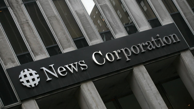 News Corp in the red but feeling the love