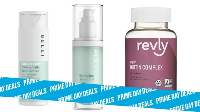 Photo Illustration by Elizabeth Brockway/The Daily Beast * Up to 40% off Belei Beauty and Revly Health and Wellness * Simple packaging, easy-to-use, and packed with powerful ingredients. * Shop the rest of our Prime Day deal picks here. Not a Prime member yet? Sign up here.Amazon took on the anti-aging skincare market with a bang by launching Belei Beauty. Right now, all of those simple, powerful products (plus some everyday vitamins from Revely, another Amazon brand) are on sale for up to 40% off during Prime Day. I recommend checking out the Hydrating Hyaluronic Acid Serum. | Get it on Amazon > Let Scouted guide you to the best Prime Day deals. Shop Here >Scouted is internet shopping with a pulse. Follow us on Twitter and sign up for our newsletter for even more recommendations and exclusive content. Please note that if you buy something featured in one of our posts, The Daily Beast may collect a share of sales.Read more at The Daily Beast.Get our top stories in your inbox every day. Sign up now!Daily Beast Membership: Beast Inside goes deeper on the stories that matter to you. Learn more.