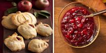 """<p>Move on over, pumpkin spice, because cranberry is the new versatile flavor for the fall season. The tangy, yet sweet flavor of cranberries makes it a must-have ingredient to add to appetizers, dinners, desserts, and even drinks. Though cranberries are typically harvested in the fall, you can carry your best cranberry recipes over into the holiday season <em>and</em> the rest of the year. But while there are plenty of delicious <a href=""""https://www.womansday.com/food-recipes/food-drinks/g2650/cranberry-sauce-recipe/"""" rel=""""nofollow noopener"""" target=""""_blank"""" data-ylk=""""slk:cranberry sauce recipes"""" class=""""link rapid-noclick-resp"""">cranberry sauce recipes</a> out there, that isn't the only way to serve cranberries to your guests. In addition to sauces, fresh cranberries can be used to make <a href=""""https://www.womansday.com/food-recipes/food-drinks/news/g1944/thanksgiving-desserts/"""" rel=""""nofollow noopener"""" target=""""_blank"""" data-ylk=""""slk:festive desserts"""" class=""""link rapid-noclick-resp"""">festive desserts</a> and flavorful glazes. </p><p>Maybe you're planning a big <a href=""""https://www.womansday.com/content/thanksgiving-recipes/"""" rel=""""nofollow noopener"""" target=""""_blank"""" data-ylk=""""slk:Thanksgiving feast"""" class=""""link rapid-noclick-resp"""">Thanksgiving feast</a> and want to impress your guests with a new <a href=""""https://www.womansday.com/food-recipes/food-drinks/g16/make-ahead-thanksgiving-dishes-113479/"""" rel=""""nofollow noopener"""" target=""""_blank"""" data-ylk=""""slk:Thanksgiving side dish"""" class=""""link rapid-noclick-resp"""">Thanksgiving side dish</a>, or perhaps you're putting together a holiday dinner party and want a creative dessert to serve up after the meal. You can use cranberries to make a simple side dish or as a key component in the main meal. From cheesecake to pies to tangy meatballs, cranberries' distinct flavor makes them a perfect addition to any dish you're whipping up. No matter what you have in mind though, these unique and delicious cranberry recipes will have everyone as"""
