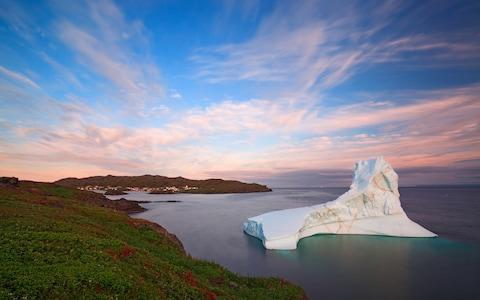 """""""I watched flotillas of blue icebergs, dispatched every spring from the Arctic, as stately as royal barques"""" - Credit: getty"""