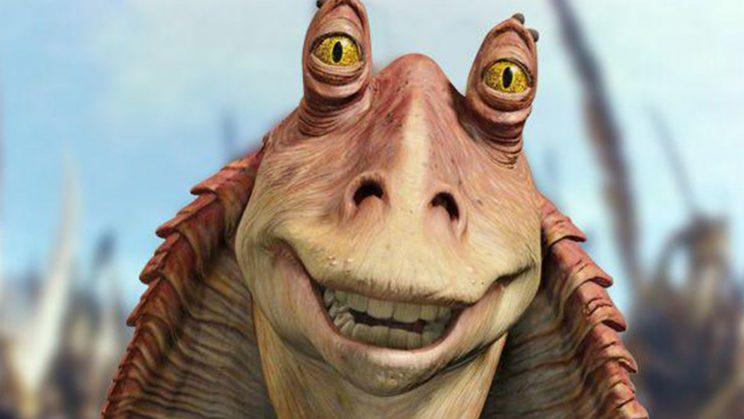 Binks… is alive and well, but what's he doing? – Credit: Lucasfilm