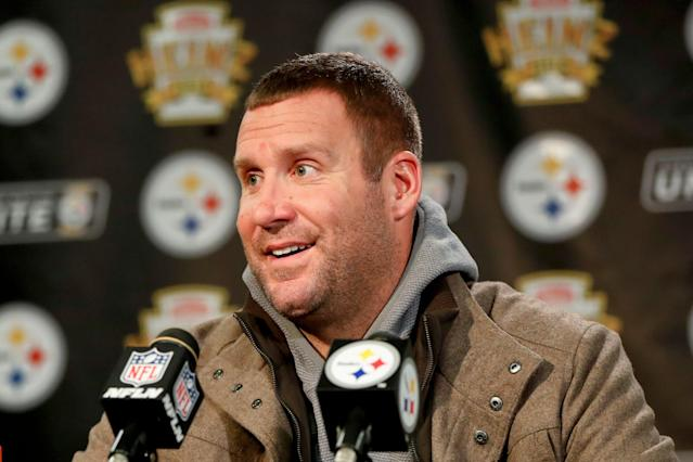 Ben Roethlisberger regularly started calling out teammates like Antonio Brown in public, and now Brown is gone. (AP Photo/Keith Srakocic)