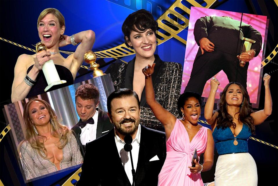 <p>We take a look at some of the best - and most memorable - moments from the Golden Globes</p> (ES Composite)