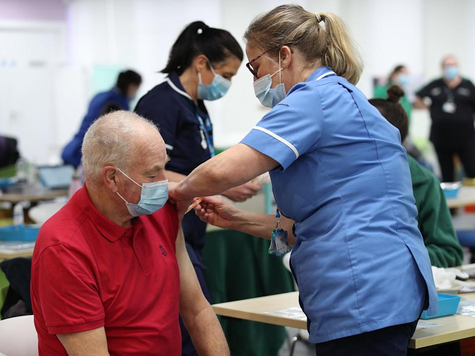 <p>Chancellor Rishi Sunak  announced a £1.6bn funding boost for the vaccine rollout in his budget</p> (Yui Mok/PA)