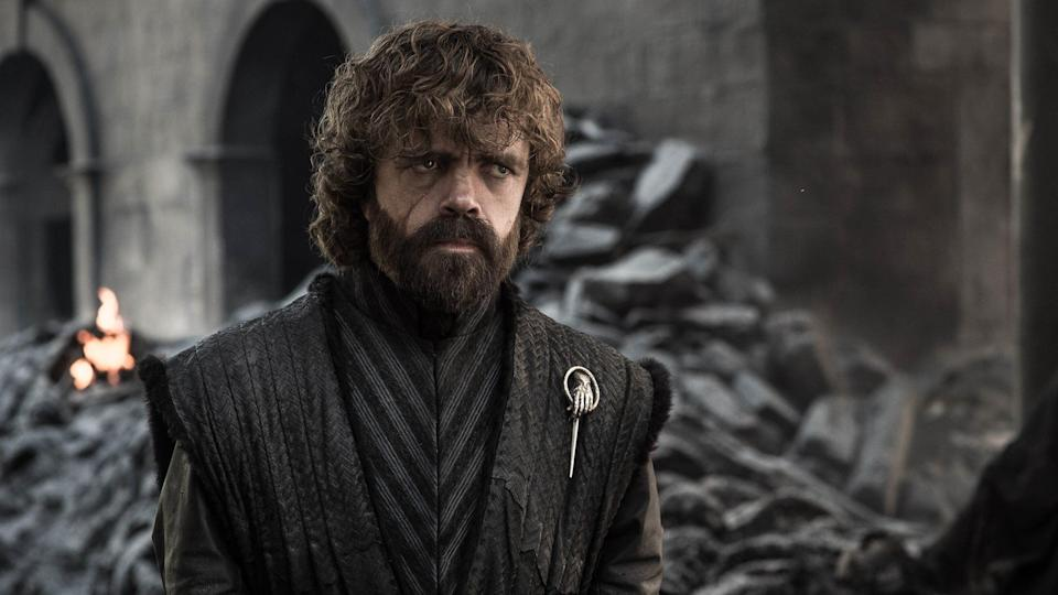 Tyrion in Game Of Thrones' The Iron Throne