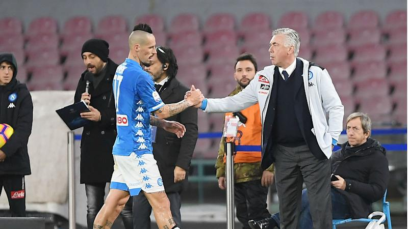 Ancelotti confirms Hamsik wants Napoli exit as China talk intensifies