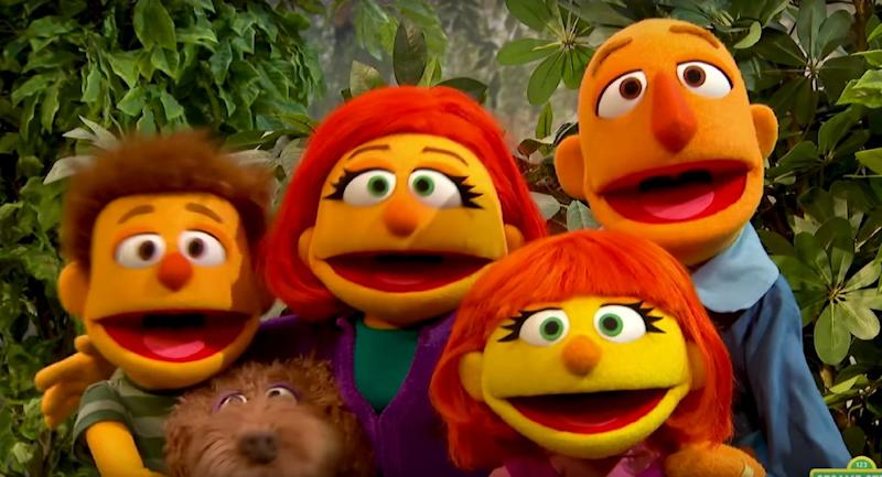 What Muppet With Autism Means To My >> Sesame Street Celebrates Autism Awareness Month By Putting Julia In