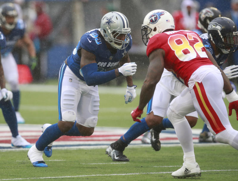 Dallas Cowboys defensive end DeMarcus Lawrence made the Pro Bowl last season. (AP)