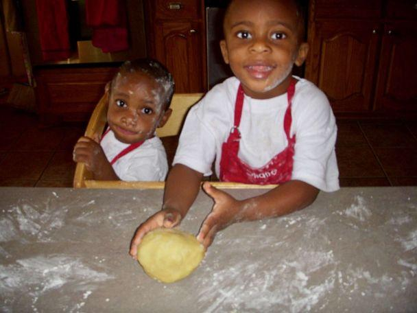 PHOTO: A throwback picture shows Shane and Nigel baking when they were younger. (Trinda Mushambi)