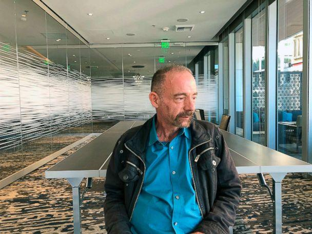 PHOTO: Timothy Ray Brown poses for a photograph, March 4, 2019, in Seattle. (Manuel Valdes/AP)