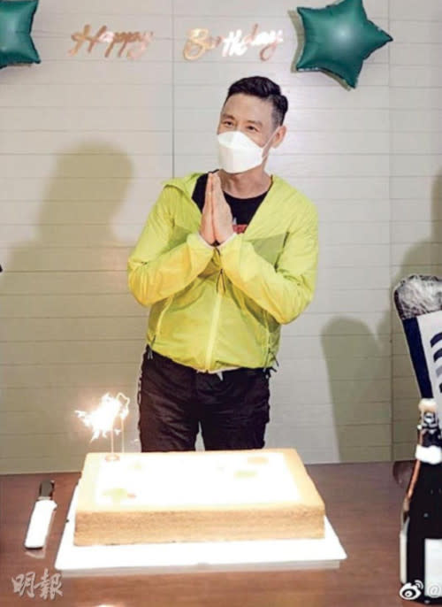 Jacky Cheung gets a low-key birthday party
