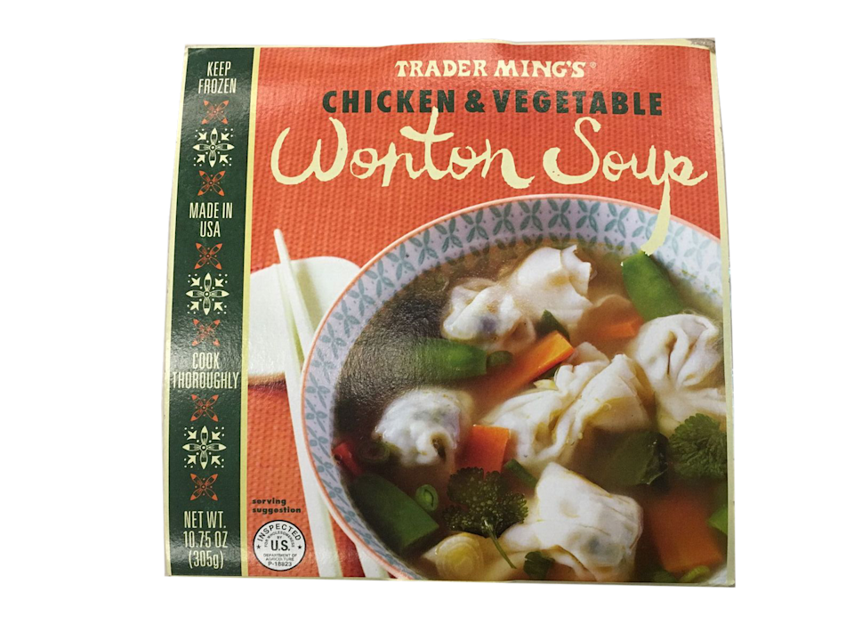 <p>This is the only frozen soup Trader Joe's had during my test, and it held its own. Good for when you're craving wonton soup, but not a whole Chinese takeout delivery.</p>