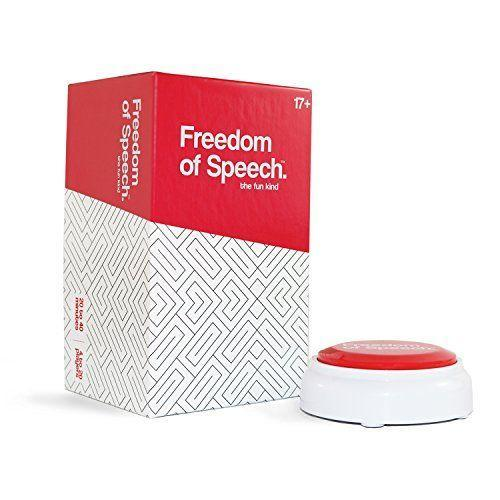 "<p><strong>Freedom Of Speech</strong></p><p>amazon.com</p><p><strong>$28.99</strong></p><p><a href=""https://www.amazon.com/dp/B078P5Y56J?tag=syn-yahoo-20&ascsubtag=%5Bartid%7C10049.g.36054934%5Bsrc%7Cyahoo-us"" rel=""nofollow noopener"" target=""_blank"" data-ylk=""slk:SHOP NOW"" class=""link rapid-noclick-resp"">SHOP NOW</a></p><p>You already know it's going to be intense if there's a beeping timer involved. Get three or more of your friends to play Freedom of Speech, where someone on your team needs to guess the word that's on the chosen card without you just flat-out saying it. The word must be guessed before the buzzer goes off!</p>"