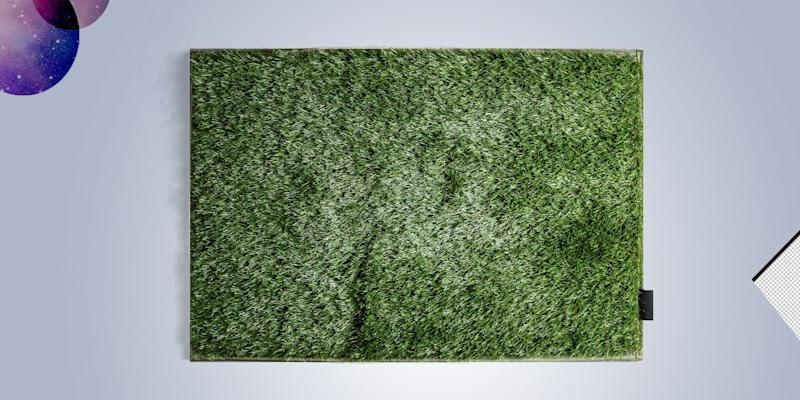 Just because you live in a walk-up apartment doesn't mean you can't have a patch of grass to call your own. SHOP NOW: Faux Grass Mat by Magnolia, $37, shop.magnolia.com