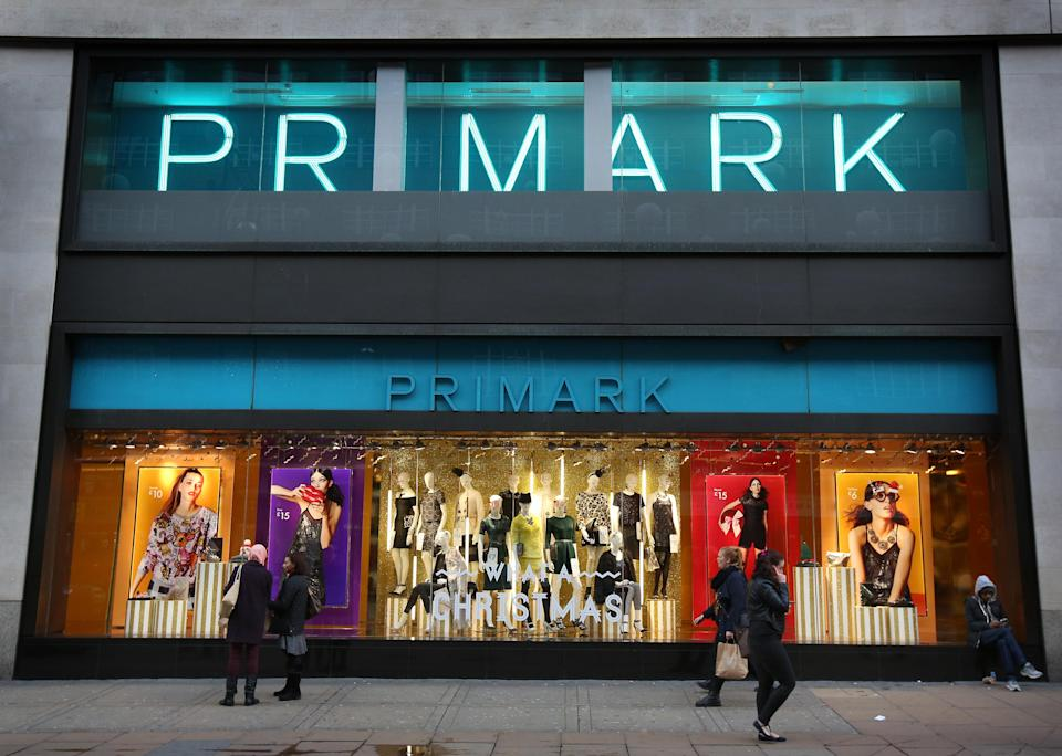 Primark has been accused of sexism over it's changing room sign [Photo: Getty]