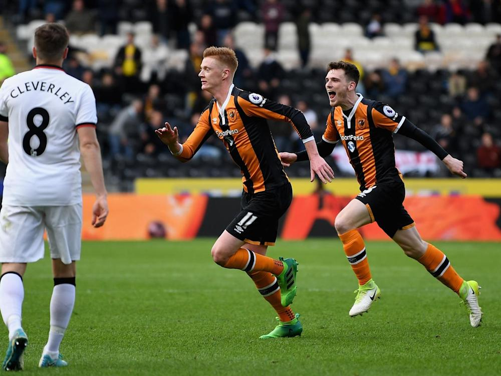 Clucas doubled Hull's lead in the second half (Getty)