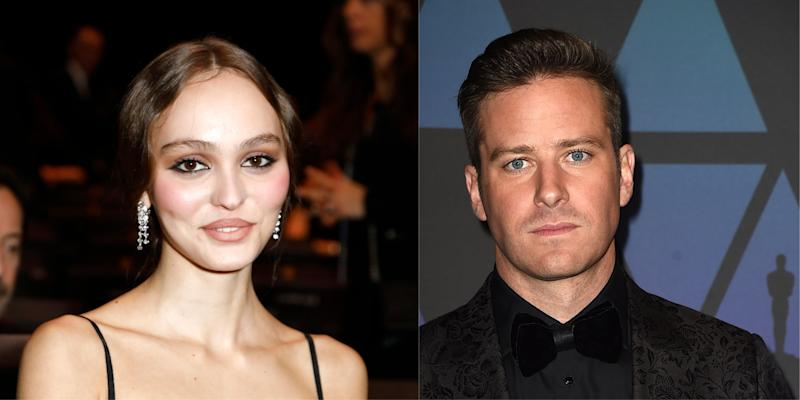 Lily-Rose Depp Joins Armie Hammer for the Thriller Dreamland