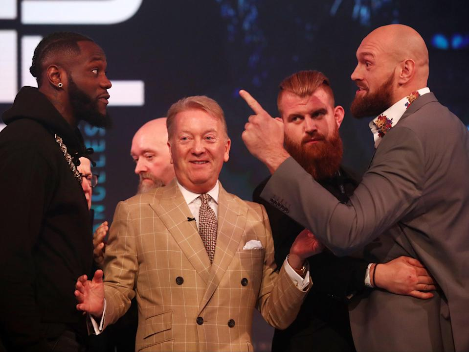 Deontay Wilder and Tyson Fury (Getty Images)