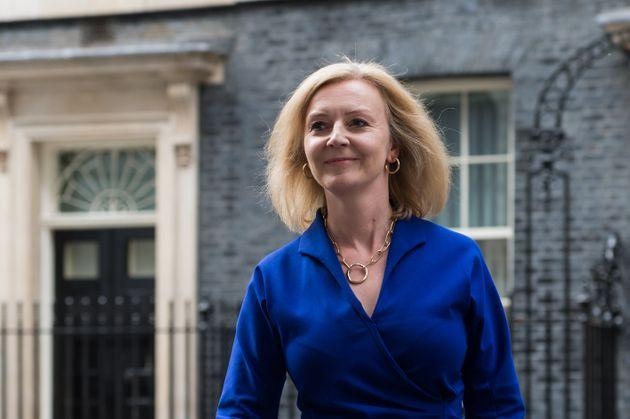 Liz Truss was promoted to foreign secretary (Photo: Barcroft Media via Getty Images)