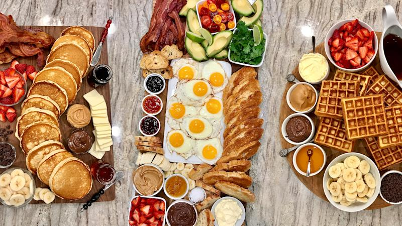 Brunch Boards Are Basically Breakfast Charcuterie & My Mouth Is Watering