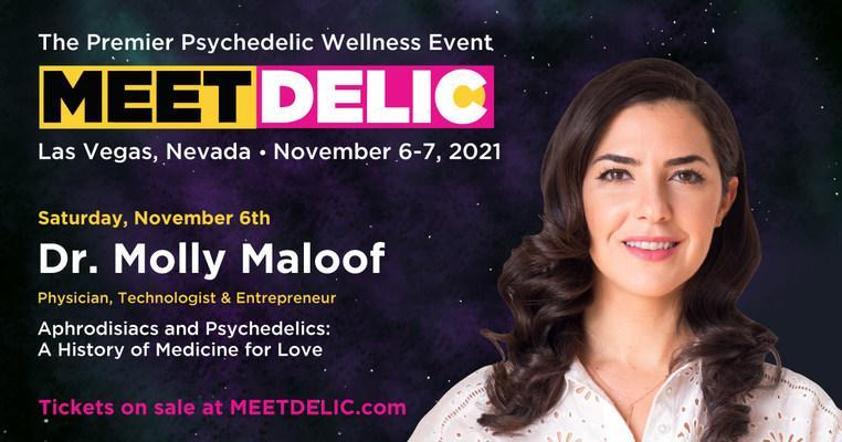Dr. Molly Maloof at Meet Delic (CNW Group/Delic Holdings Inc.)