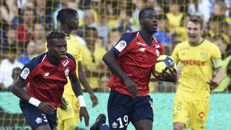 'Go Pepe them' - Twitter reacts as Arsenal break transfer record for Lille winger