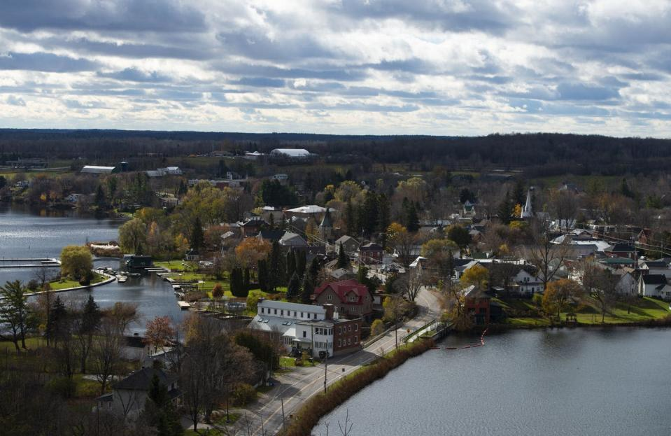 """<span class=""""caption"""">The village of Westport, Ont., northeast of Kingston, is like many vibrant rural communities in Canada that deserve to be heard on election day. </span> <span class=""""attribution""""><span class=""""source""""> THE CANADIAN PRESS/Sean Kilpatrick </span></span>"""