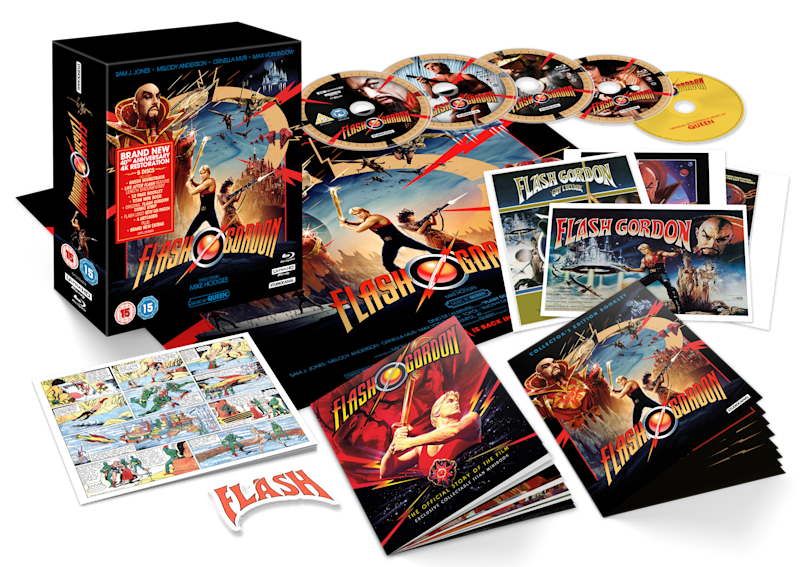 The 5 disc Collector's Edition of Flash Gordon. (Studiocanal)