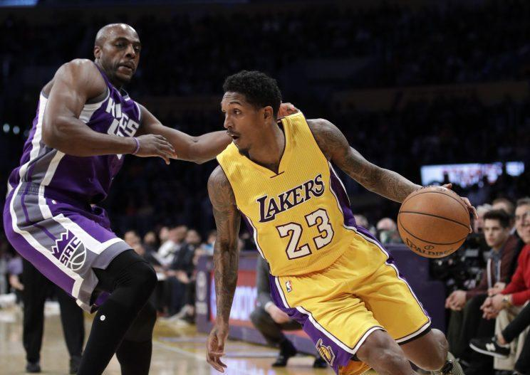 Lou Williams averaged 18.6 points for the Lakers this season. (AP)