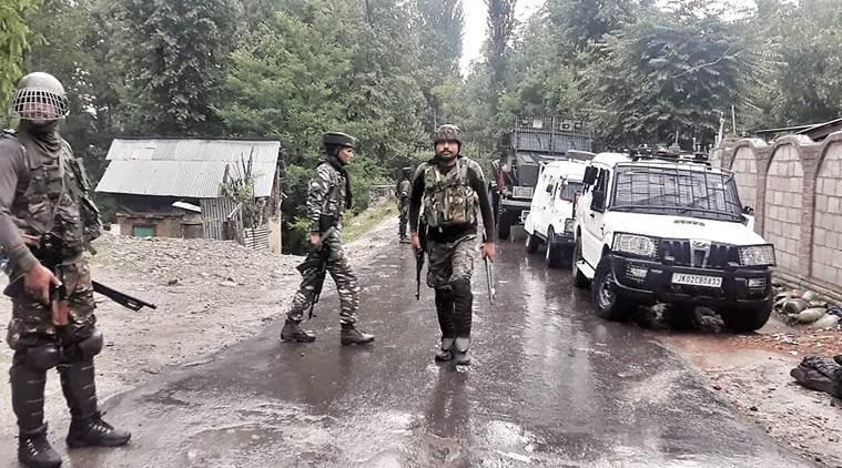 Jammu Kashmir, Shopian encounter, Shopian encounter J&K, AGH militants killed, AGH, Ansar Ghazwat-ul-Hind, j&k militants killed, J&K shopian encounter, J&K police, Jammu Kashmir police, al-Qaeda, Al-Qaeda india, al qaeda affiliate kashmir, al-qaeda kashmir, kashmir news, indian express